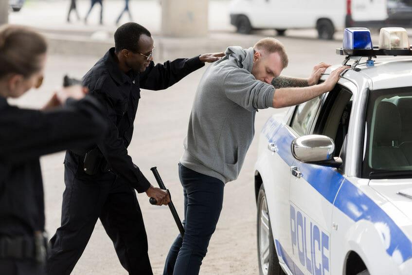 Arrested in Dallas, TX